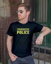 Thermostat Police T-Shirt for Dad Classic T-Shirt lifestyle-mens-crewneck-front-2
