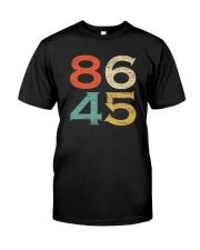 Classic Vintage Style 86 45 Anti Trump T-Shirt Premium Fit Mens Tee thumbnail