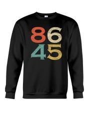 Classic Vintage Style 86 45 Anti Trump T-Shirt Crewneck Sweatshirt thumbnail