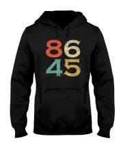 Classic Vintage Style 86 45 Anti Trump T-Shirt Hooded Sweatshirt thumbnail