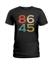 Classic Vintage Style 86 45 Anti Trump T-Shirt Ladies T-Shirt thumbnail