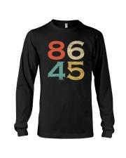 Classic Vintage Style 86 45 Anti Trump T-Shirt Long Sleeve Tee thumbnail