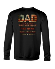 Best selling Dad the Veteran the Myth the Legend T Crewneck Sweatshirt thumbnail