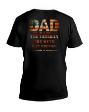 Best selling Dad the Veteran the Myth the Legend T V-Neck T-Shirt thumbnail