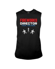 Fireworks Director I Run You Run - Funny 4th July Sleeveless Tee thumbnail