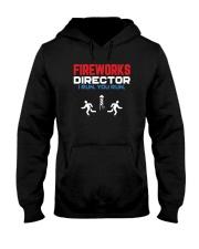 Fireworks Director I Run You Run - Funny 4th July Hooded Sweatshirt thumbnail