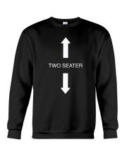 Two Seater Arrow Funny Novelty Shirt Crewneck Sweatshirt thumbnail