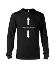 Two Seater Arrow Funny Novelty Shirt Long Sleeve Tee thumbnail
