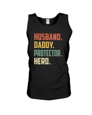 Mens Husband Daddy Protector Hero Shirt Vintage Unisex Tank thumbnail