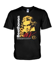 beethoven V-Neck T-Shirt thumbnail