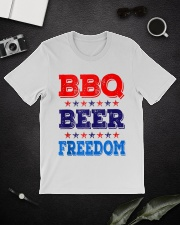 BBQ Beer Freedom T Shirts Classic T-Shirt lifestyle-mens-crewneck-front-16