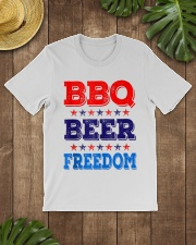 BBQ Beer Freedom T Shirts Classic T-Shirt lifestyle-mens-crewneck-front-18