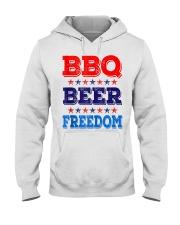 BBQ Beer Freedom T Shirts Hooded Sweatshirt thumbnail
