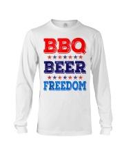 BBQ Beer Freedom T Shirts Long Sleeve Tee thumbnail