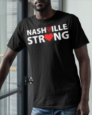 Nashville Strong T Shirt Classic T-Shirt apparel-classic-tshirt-lifestyle-front-39