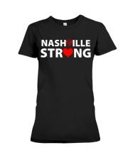 Nashville Strong T Shirt Premium Fit Ladies Tee thumbnail