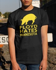 Floyd Hates Minnesota T Shirt Classic T-Shirt apparel-classic-tshirt-lifestyle-29