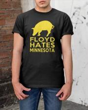 Floyd Hates Minnesota T Shirt Classic T-Shirt apparel-classic-tshirt-lifestyle-31