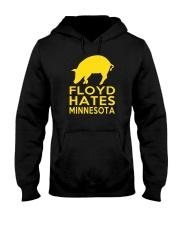 Floyd Hates Minnesota T Shirt Hooded Sweatshirt thumbnail