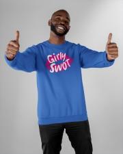 Girly Swot T Shirt Crewneck Sweatshirt apparel-crewneck-sweatshirt-lifestyle-front-05