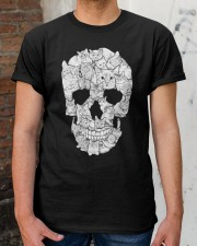 skull made of cats t shirt Classic T-Shirt apparel-classic-tshirt-lifestyle-30