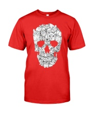 skull made of cats t shirt Premium Fit Mens Tee tile
