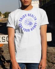 Enjoy Health Eat Your Honey T Shirt Classic T-Shirt apparel-classic-tshirt-lifestyle-29