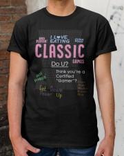 brian david gilbert I love eating classic shirt Classic T-Shirt apparel-classic-tshirt-lifestyle-30