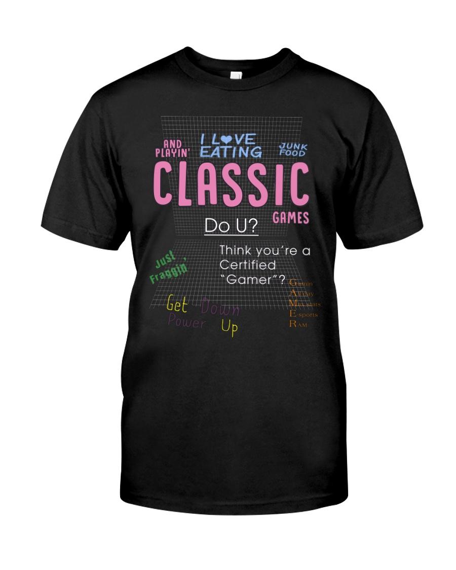 brian david gilbert I love eating classic shirt Classic T-Shirt