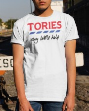 Billie Piper Tories Very Little Help Shirt Classic T-Shirt apparel-classic-tshirt-lifestyle-29