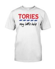 Billie Piper Tories Very Little Help Shirt Classic T-Shirt front