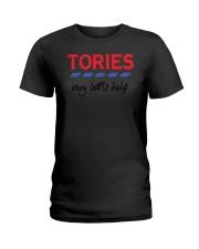 Billie Piper Tories Very Little Help Shirt Ladies T-Shirt thumbnail