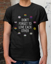 don't forget to love each other t shirt Classic T-Shirt apparel-classic-tshirt-lifestyle-30