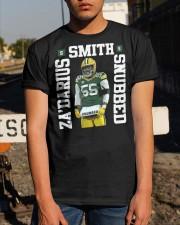 Packers Zadarius Smith Snubbed Shirt Classic T-Shirt apparel-classic-tshirt-lifestyle-29