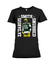 Packers Zadarius Smith Snubbed Shirt Premium Fit Ladies Tee thumbnail
