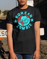 korean zombie t shirt Classic T-Shirt apparel-classic-tshirt-lifestyle-29