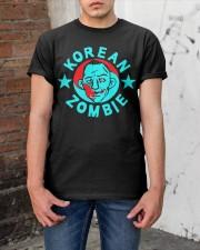 korean zombie t shirt Classic T-Shirt apparel-classic-tshirt-lifestyle-31