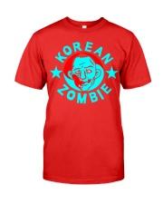 korean zombie t shirt Premium Fit Mens Tee thumbnail