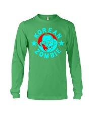 korean zombie t shirt Long Sleeve Tee thumbnail