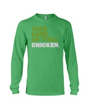 Take Care Of Y'all Chicken Shirt Long Sleeve Tee thumbnail