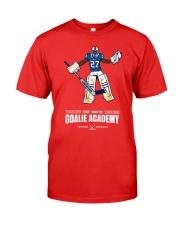 Tre White Goalie Academy Shirt Premium Fit Mens Tee thumbnail