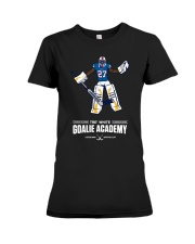 Tre White Goalie Academy Shirt Premium Fit Ladies Tee thumbnail