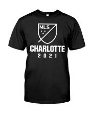 Charlotte MLS 2021 Shirt Classic T-Shirt front
