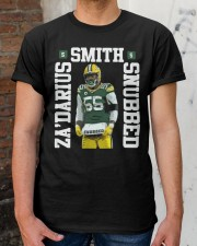 Zadarius Smith Snubbed Packers Shirt Classic T-Shirt apparel-classic-tshirt-lifestyle-30