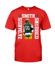 Zadarius Smith Snubbed Packers Shirt Premium Fit Mens Tee thumbnail