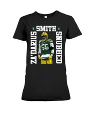 Zadarius Smith Snubbed Packers Shirt Premium Fit Ladies Tee thumbnail