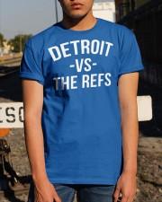 Detroit vs The Refs T Shirt Classic T-Shirt apparel-classic-tshirt-lifestyle-29