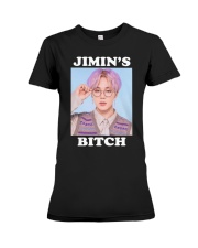 Jimin's Bitch Shirt Premium Fit Ladies Tee thumbnail
