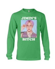 Jimin's Bitch Shirt Long Sleeve Tee thumbnail
