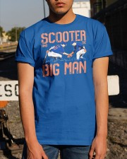 Scooter And The Big Man T Shirt Classic T-Shirt apparel-classic-tshirt-lifestyle-29